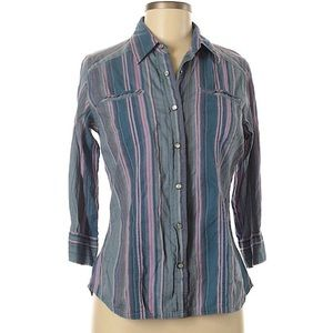 NEW LISTING The North Face striped top M